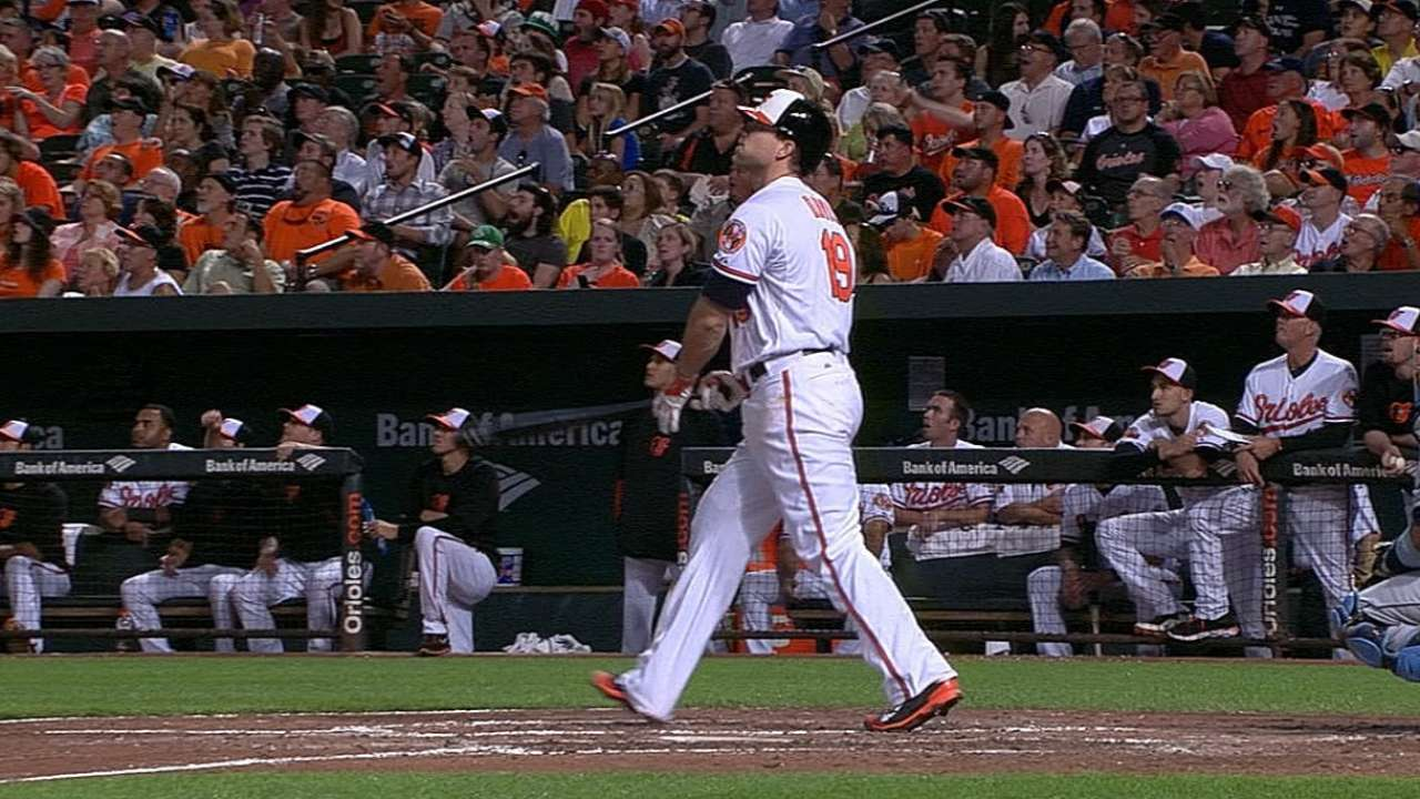 Orioles' prolific power snaps skid against Rays