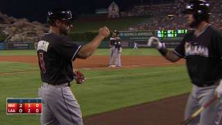 Red-hot Ozuna cleans up; McGehee down to fifth