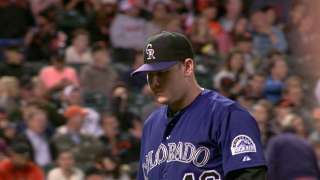 Rockies shining at getting double plays