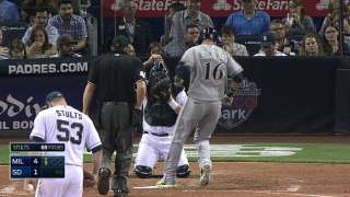 Aramis, Braun homer as Brewers rout Padres