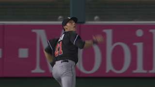 Yelich reflects on youth camps run by Scioscia