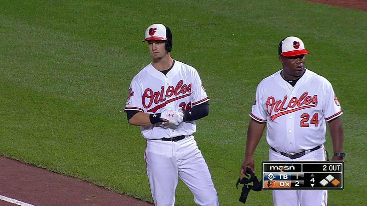 Cruz, Schoop ayudaron a Orioles a extender ventaja