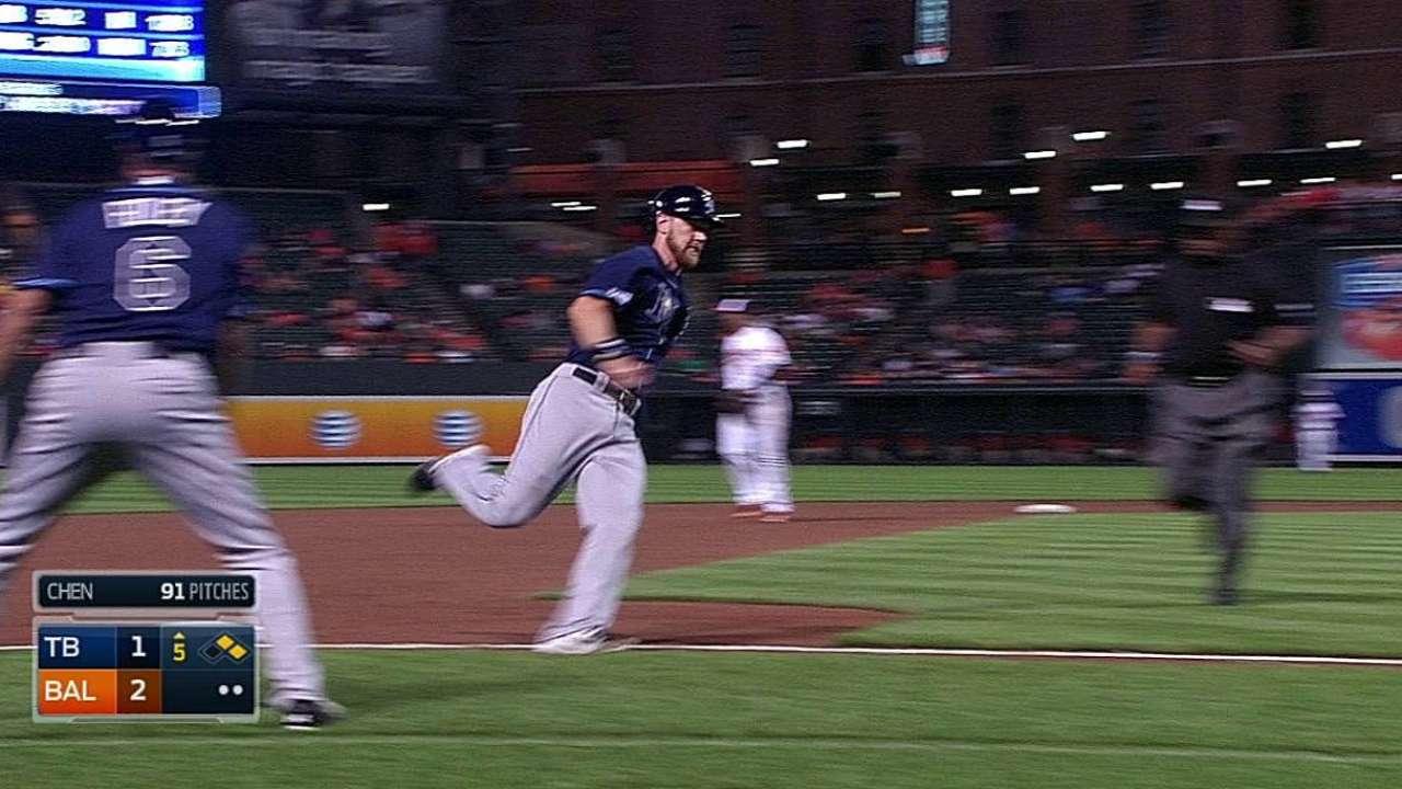 Rays no tuvieron suerte en derrota vs. Orioles