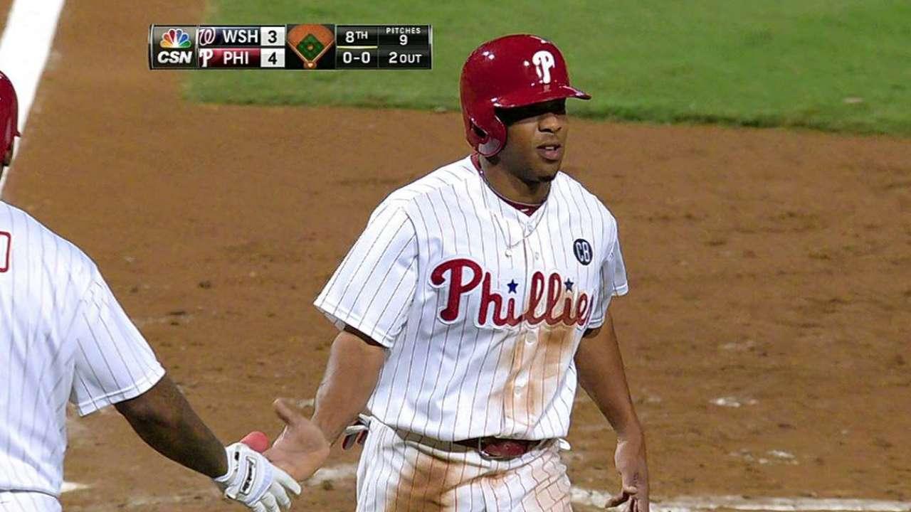 Nacionales vuelven a quedarse cortos en Filadelfia