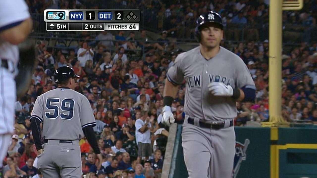 Yankees dejaron ir el primero de la serie en Detroit