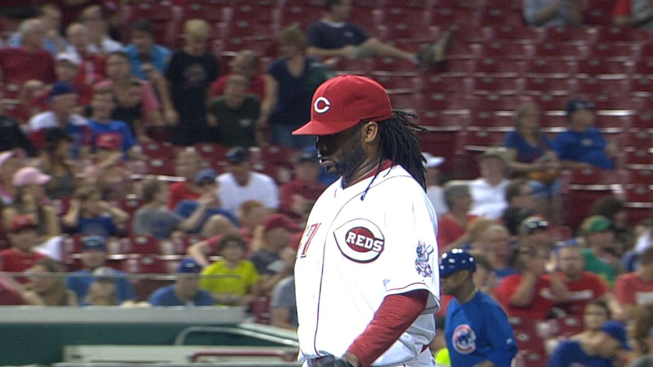 Cueto hurt by homers as Reds fall in shutout
