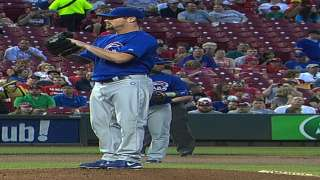Homers fuel Cubs' three-hit shutout in Cincinnati