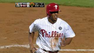 Phils clinch series with help from overturned call