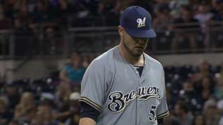 Brewers call up five, including Monday starter Nelson