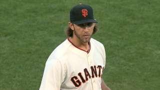 Bumgarner's near no-hitter doesn't surprise Giants