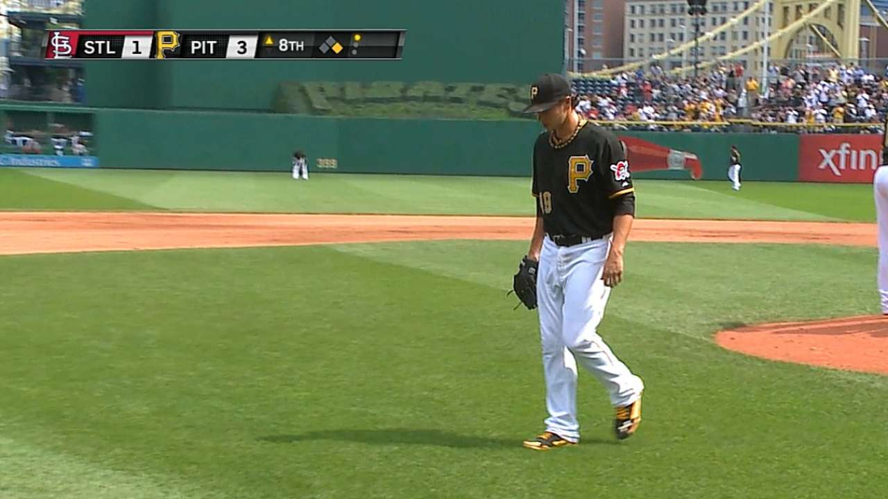 Locke looks to help Pirates climb closer to Cardinals