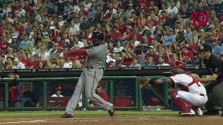 Sweep at hands of Phillies cools down Nats