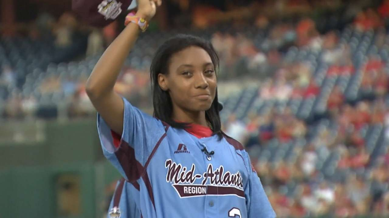 Phillies honor Taney Dragons