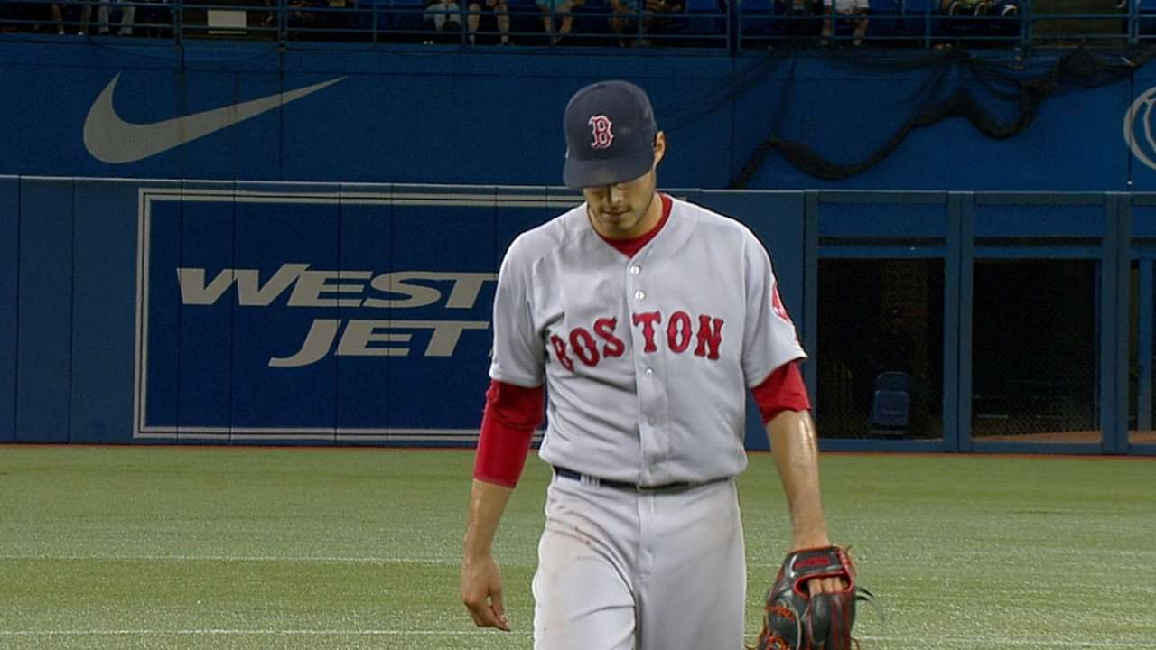 Tazawa's woes vs. Blue Jays continue in loss
