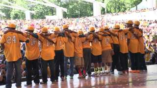 Chicago holds parade for Jackie Robinson West