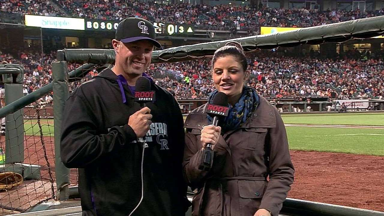 Rockies expect Cuddyer back from DL on Monday