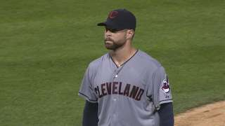 Kluber loses battle with White Sox rookie Abreu