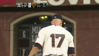 Hudson notches 2,000th strikeout in Giants' win