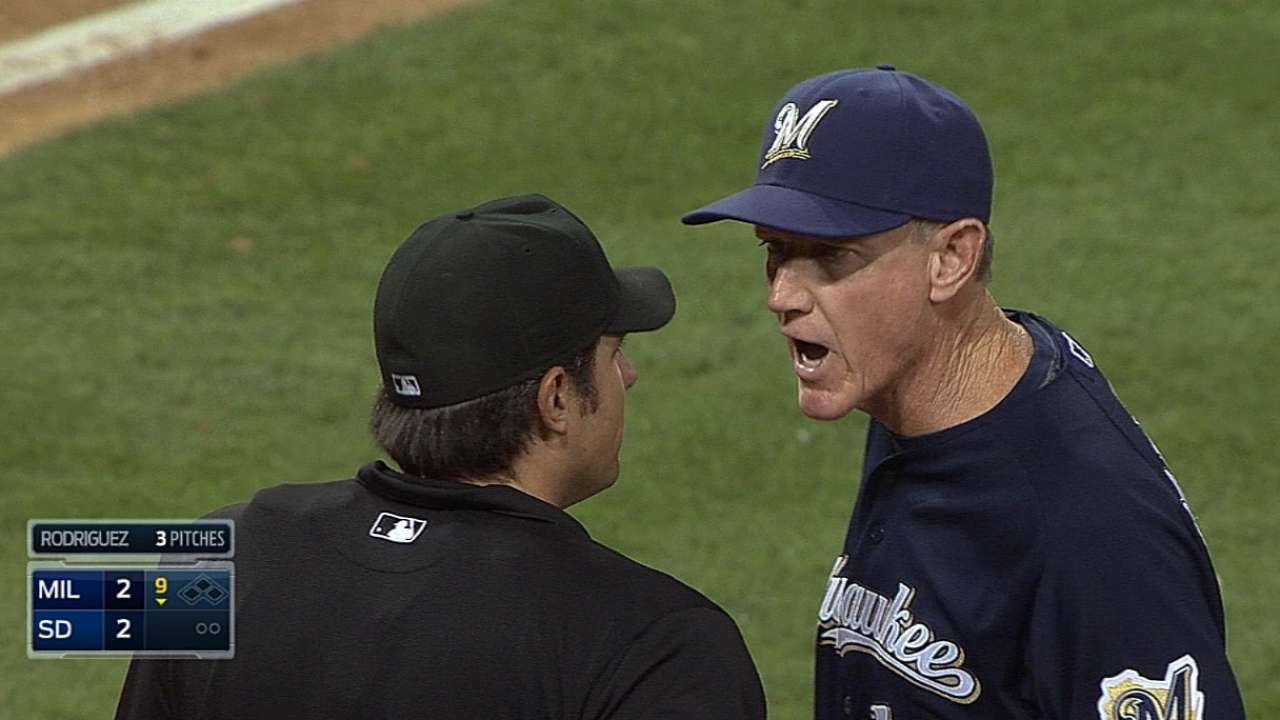 Roenicke criticizes umpire after ejection