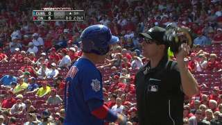 Coghlan tossed for arguing after strikeout