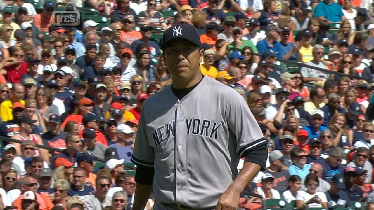Yankees caen ante los Tigres y pierden la serie