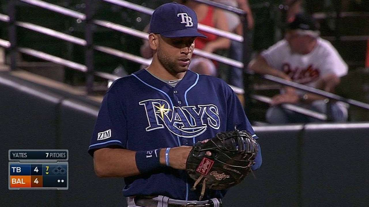 Rays squander two leads, drop game and series