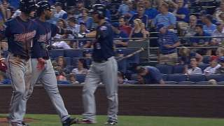 Twins strike for six in 10th inning to best KC