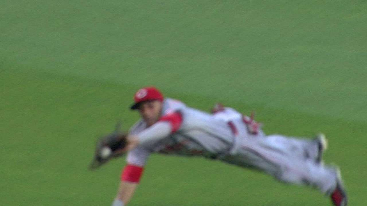 Price: Hamilton playing Gold Glove-worthy center