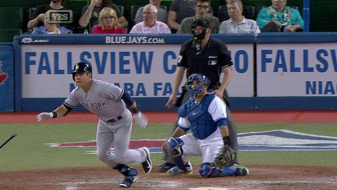 Ellsbury, Headley dan triunfo a Yankees en Toronto
