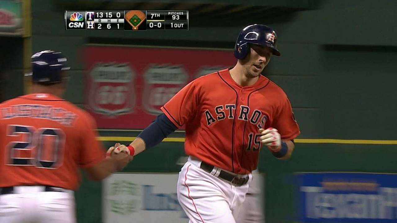 Castro jonronea pero Astros caen con Rangers