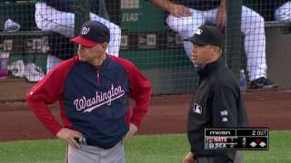 Nats have call at first overturned vs. Mariners