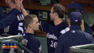 Brewers battered but don't lose ground to Cards