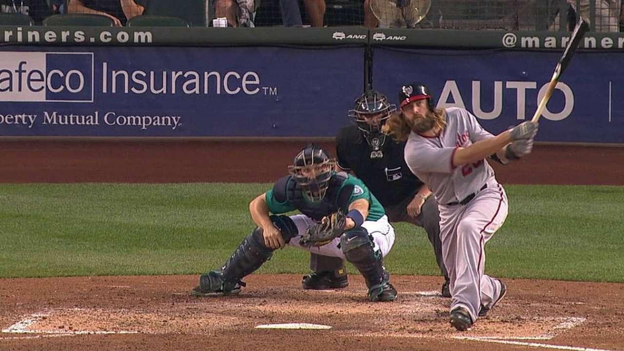 Werth's two-run homer