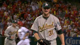 A's fall three games back, lose Crisp to injury