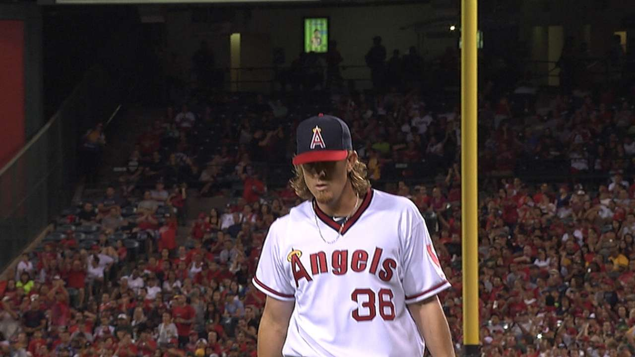 Angels boost AL West lead with shutout of A's