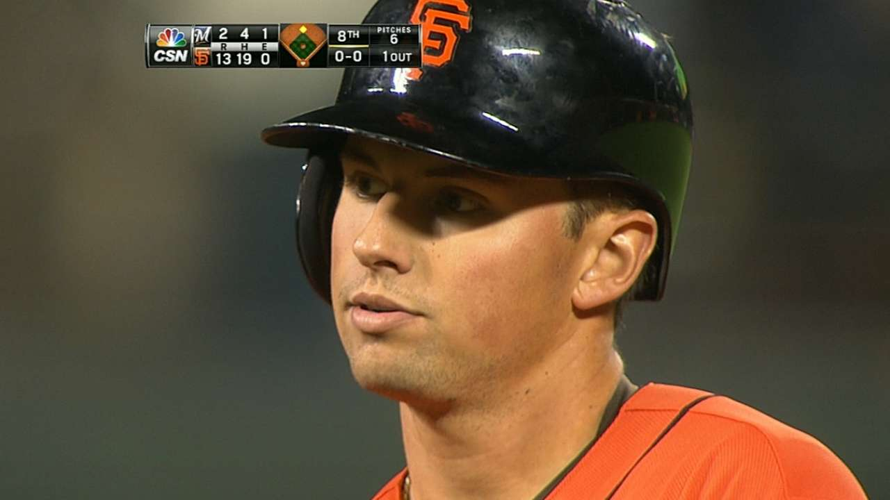 Panik's production giving lift to Giants' offense