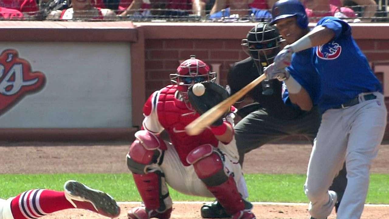 Cardenales y Cubs dividieron doble juego en S.L.