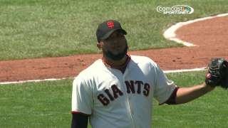 Petit retires 46th straight to set MLB record