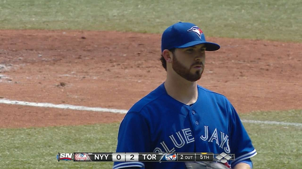 Hutchison the star as Blue Jays one-hit Yanks