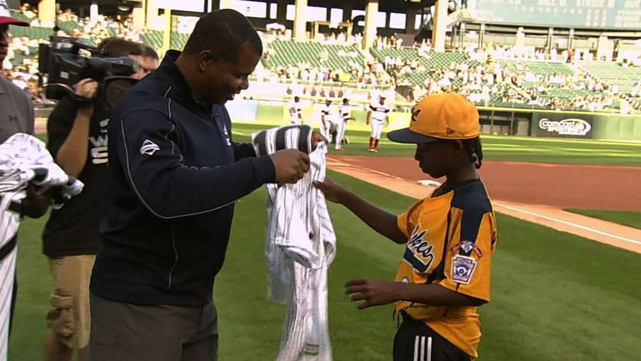 Williams conveys important message to Little Leaguers