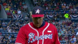 Harang labors as Braves fall to Marlins in shutout