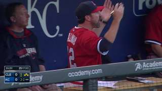 Callaway ejected after arguing check swing call
