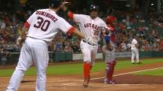 Feldman Pitches 3-Hitter, Astros Blank Rangers 2-0