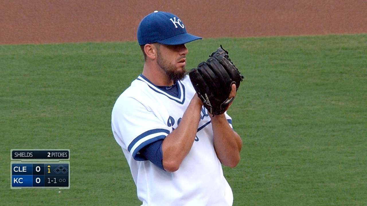 Shields goes seven strong
