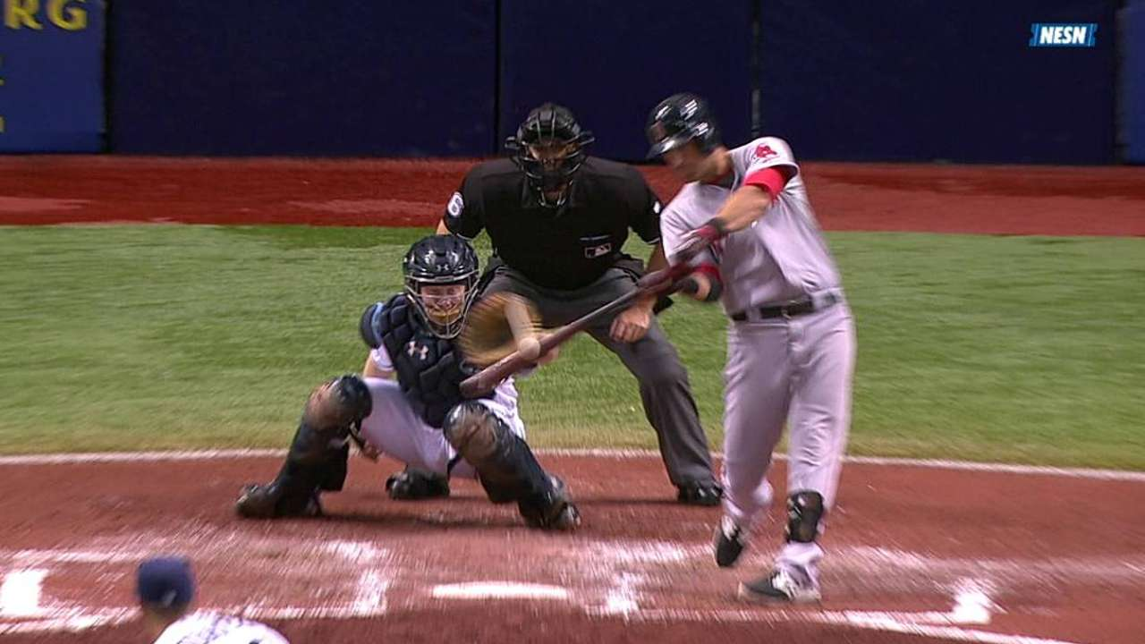 Sox lose Pedroia on rough night for Webster, offense