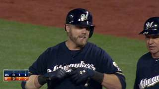 Brewers escape no-hitter but lose division ground