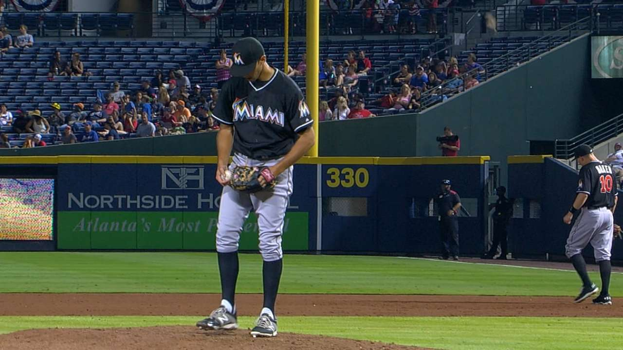 Cishek strikes out the side