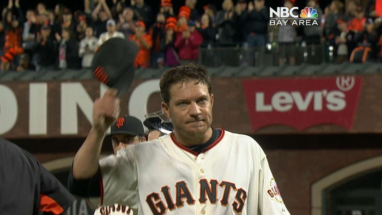 Peavy rewarding Giants' faith in his arm over his record