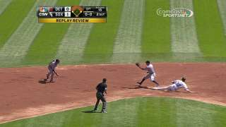 White Sox score second run on overturned call