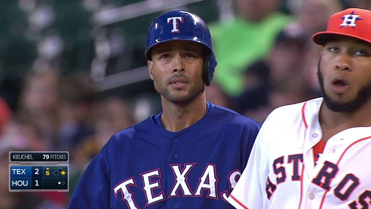 Rios' time with Rangers could be winding down